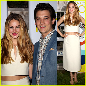 Shailene Woodley & Miles Teller: 'Spectacular Now' Hamptons Screening!