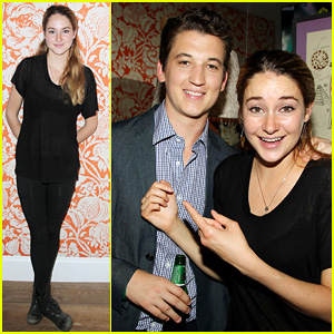 Shailene Woodley & Miles Teller: 'Spectacular Now' Screening!