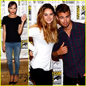 Shailene Woodley & Theo James: 'Divergent' Comic-Con Panel!