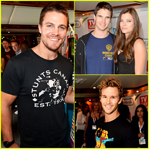 Stephen & Robbie Amell: Nintendo Oasis at Comic-Con!