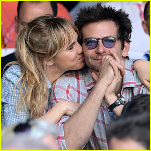 Suki Waterhouse Kisses Bradley Cooper at Wimbledon!