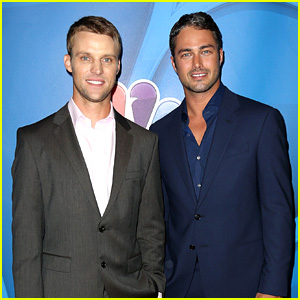 Taylor Kinney & Jesse Spencer: NBC's Summer TCA Tour!