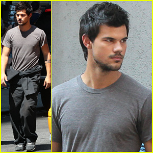 Taylor Lautner is a Gentleman for Co-star Marie Avgeropoulos!