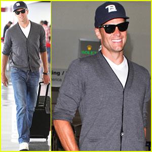 Tom Brady: Solo LAX Departure