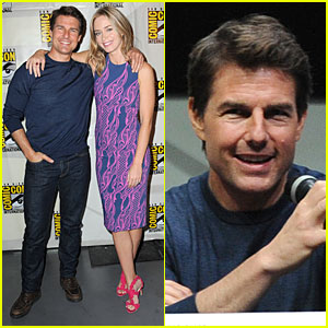 Tom Cruise & Emily Blunt: 'Edge of Tomorrow' at Comic-Con!
