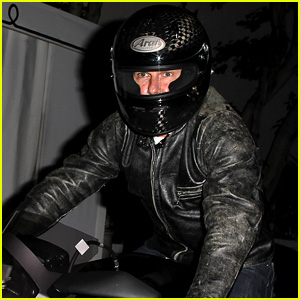 Tom Cruise Rides His Motorcycle Before 51st Birthday