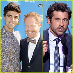 Jesse Tyler Ferguson & Justin Mikita: Do Something Awards Newlyweds!