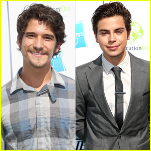 Tyler Posey & Jake T. Austin - Variety's Power of Youth 2013