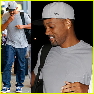 Will Smith: From LAX to JFK!