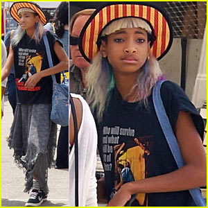Willow Smith Searches Flea Market for Great Finds