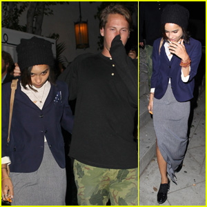 Zoe Kravtiz: Chateau Marmont Night Out!