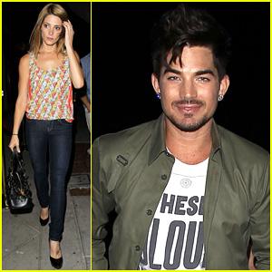 Adam Lambert & Ashley Greene: Hooray Henry's Opening Night!