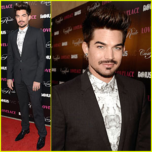 Adam Lambert: 'Lovelace' Hollywood Premiere!