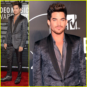 Adam Lambert - MTV VMAs 2013 Red Carpet
