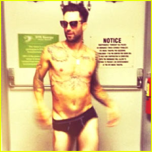 Not meaningful. adam levine naked