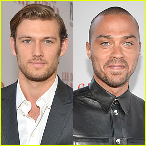Alex Pettyfer & Jesse Williams: 'The Butler' L.A. Premiere Studs!