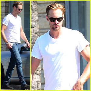 Alexander Skarsgard: I'm Single Right Now!