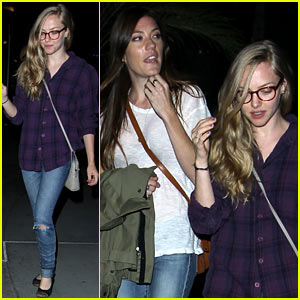 Amanda Seyfried Had 'So Much Fun' with Jennifer Carpenter!