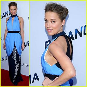 Amber Heard: 'Paranoia' Los Angeles Premiere!