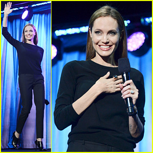 Angelina Jolie: I Frightened Kids on the 'Maleficent' Set!