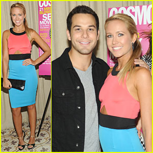 Anna Camp & Skylar Astin: Cosmopolitan's Summer Bash Couple!
