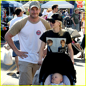 Anna Faris & Chris Pratt Celebrate Son Jack's First Birthday!