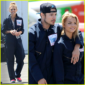 AnnaLynne McCord & Josh Henderson: Skydiving for a Cause!