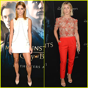 Ashley Greene & Julianne Hough: 'City of Bones' Premiere!