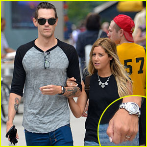 Ashley Tisdale & Christopher French Step Out After Engagement News