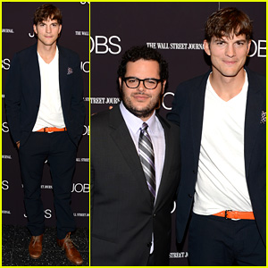 Ashton Kutcher: 'Jobs' NYC Premiere with Josh Gad!