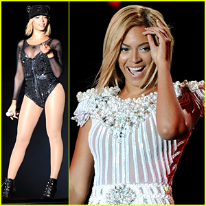 Beyonce Rocks Short Bob Haircut at V Festival!