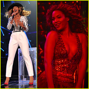 Beyonce Wears New Mrs. Carter Tour Outfits for Brooklyn Show!