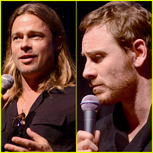 Brad Pitt & Michael Fassbender: '12 Years a Slave' at Telluride!