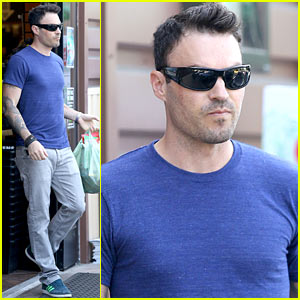 Brian Austin Green Grabs Groceries for His Growing Family