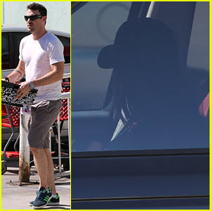 Brian Austin Green Stops at Petco, Megan Fox Waits in Car