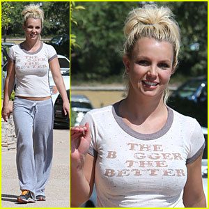 Britney Spears: The Bigger The Better!