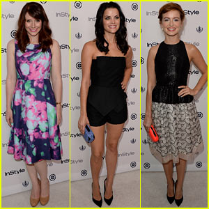 Bryce Dallas Howard & Ahna O'Reilly: 'InStyle' Summer Soiree!