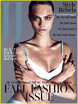 Cara Delevingne Covers 'W' Magazine September 2013