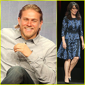 Charlie Hunnam: 'Sons of Anarchy' at FX's Summer TCA Tour!