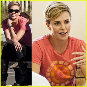 Charlize Theron Visits Youth Ambassador Project in South Africa