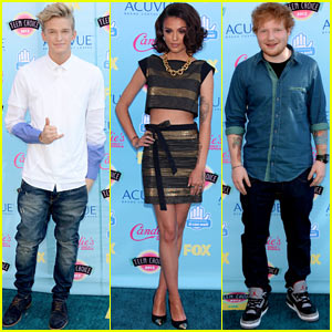 Cher Lloyd & Ed Sheeran - Teen Choice Awards 2013