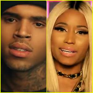 Chris Brown & Nicki Minaj: 'Love More' Explicit Video Premiere!