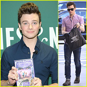 Chris Colfer: 'Land of Stories: The Enchantress Returns' Book Event!