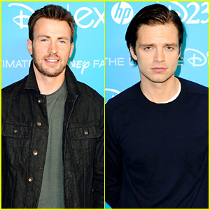 Chris Evans & Sebastian Stan: 'Captain America' at D23 Expo!