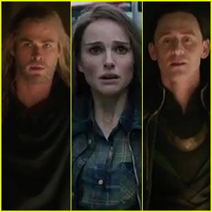 Chris Hemsworth & Tom Hiddleston: 'Thor: The Dark World' Trailer!