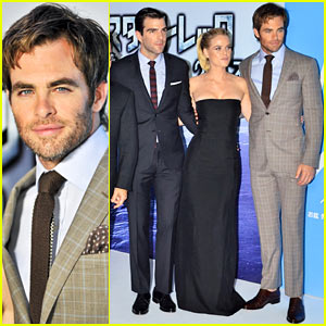Chris Pine & Zachary Quinto: 'Star Trek Into Darkness' Japan Premiere!