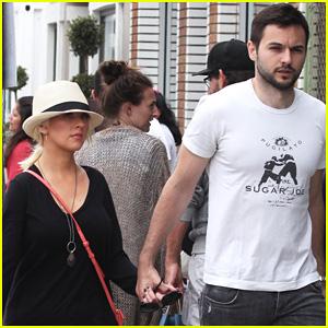 Christina Aguilera & Matthew Rutler: Abbot Kinney Shoppers!