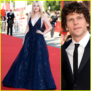 Dakota Fanning & Jesse Eisenberg: 'Night Moves' Venice Premiere