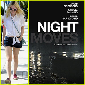 Dakota Fanning: New 'Night Moves' Poster!