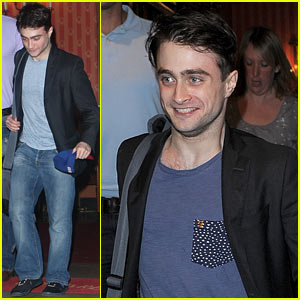 Daniel Radcliffe: I'm Out of My Comfort Zone On Stage